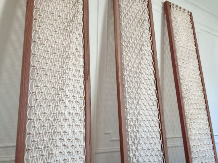 Macrame Room Divider - Macrame Screen
