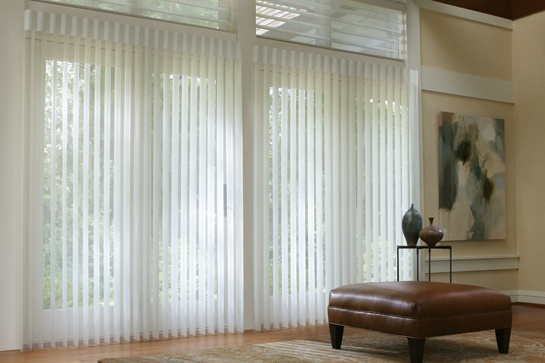 Turn sunlight into ambiance with Alustra® Luminette® Privacy Sheers ♦ Hunter Douglas window treatments #LivingRoom