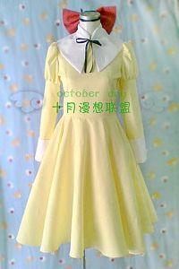 Ouran High School Host Club Ouran Koukou Hosuto Kurabu Renge Houshakuji dress Cosplay Costume F008
