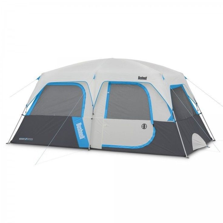 Family Camping Tent Outdoors Fishing Picnic Canopy 8 Person Dome Hiking Blue  #FamilyCampingTent #Dome