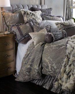 "+2942 Dian Austin Couture Home ""Penthouse Suite"" Bed Linens"
