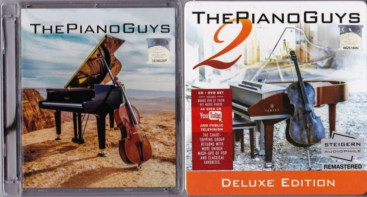 CD+DVD THE PIANO GUYS Vol.1 & 2 Audiophile CD Remastered Deluxe Malaysia Edition