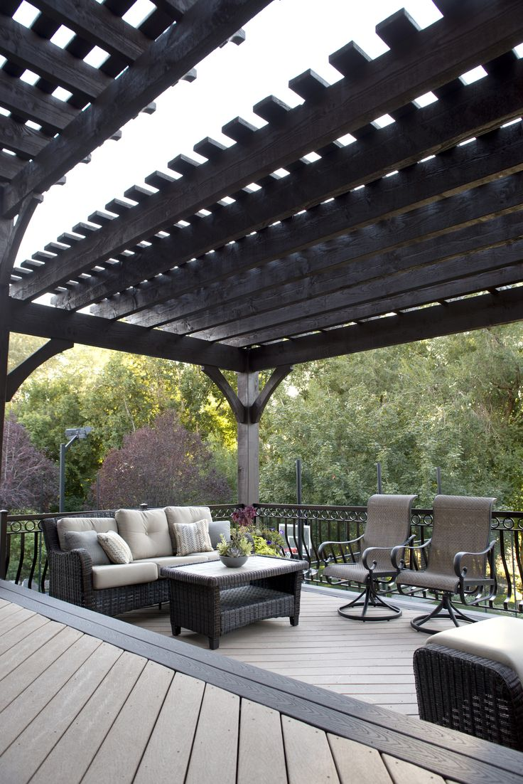 72 best decks and handrails images on pinterest backyard decks