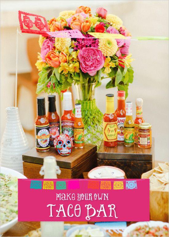 ideias para fazer festa mexicana
