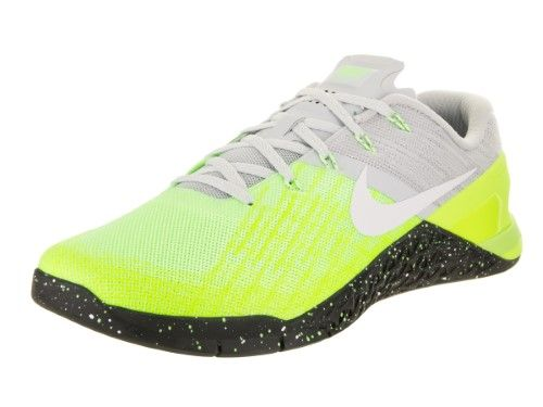 3d7453e467b91 Nike Men's Metcon 3 Pure Platinum/Black Volt Training Shoe 11.5 Men ...