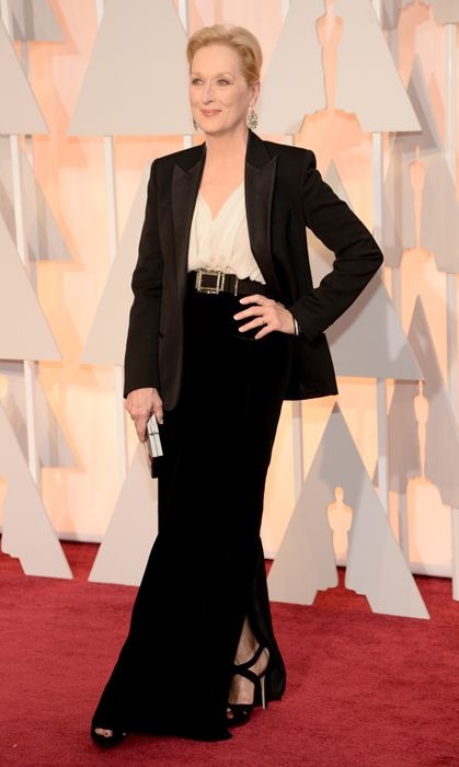 All the red carpet looks from the 2015 Oscars: Meryl Streep. Photo: Getty
