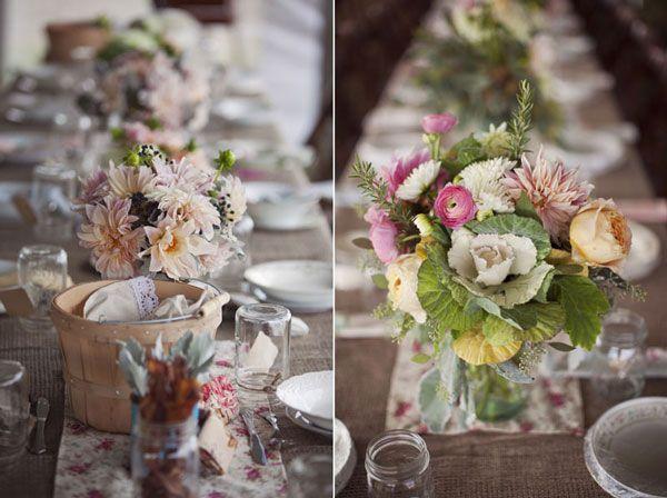 des fleurs remplissant l air frais l organisation mariage en plein air ...