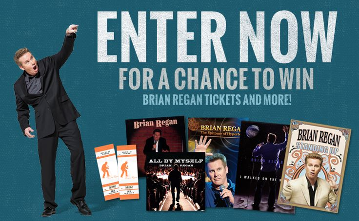 I just entered to win Brian Regan's Fall Sweepstakes!  Take luck! What a Great Clean Comedian the whole family can enjoy!!
