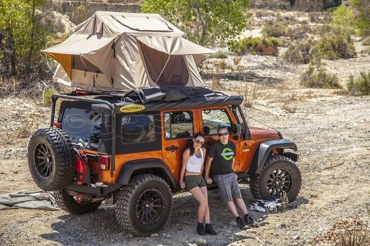 Smittybilt 2783 Folded Tent For Jeeps & Other 4×4's | Roof Top Tent Store