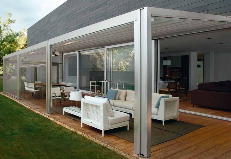 1000 id es sur le th me retractable pergola sur pinterest. Black Bedroom Furniture Sets. Home Design Ideas