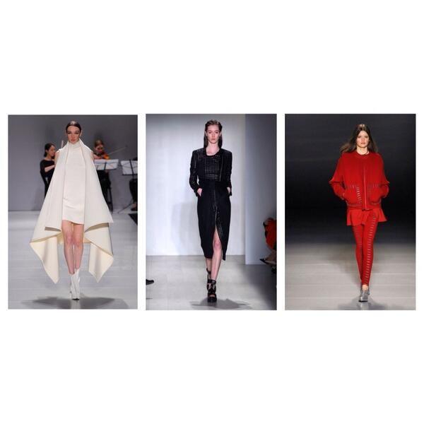 L to R: @Sid Neigum Mikhael Lane @Beaufille @World MasterCard Fashion Week #AW14 #Toronto #TFW
