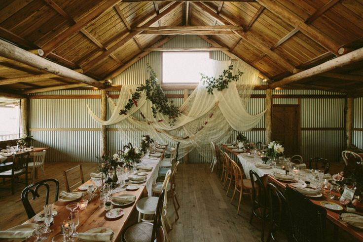 Trying to find ways to transform a barn into something special? Here is an example of how one couple styled Waldara - one of our fave #WedShed venues.