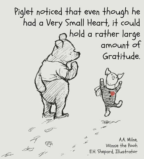 pooh and piglet gratitude