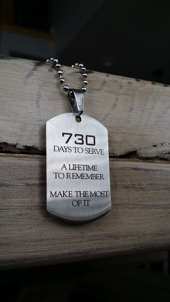 LDS Missionary Gift LDS Mission Missionary Dog Tag by DaysToServe