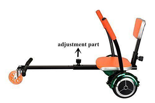 Orenge Mini Hover boards Adult Go Kart Hover kart with different length adjustment Scooter Go-kart Equipment