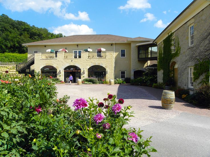 Wollersheim Winery. Everyone keeps raving about this place! I need to go.
