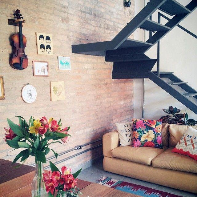 Uma edícula transformada em uma casinha com clima de interior... ♥ #todacasatemumahistoria #casacomalma #tijolinho
