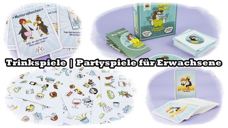 Trinkspiele   Partyspiele für Erwachsene   FSK 18 - Susi und Kay Projekte