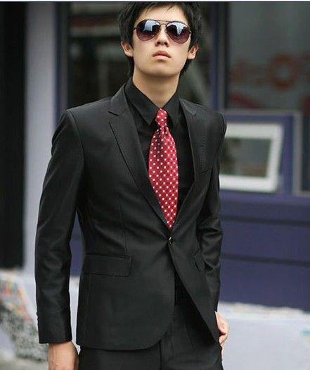 Buy Elegant FashionButtons Exquisite Suit Black with cheapest price Clothing-Dropship.com