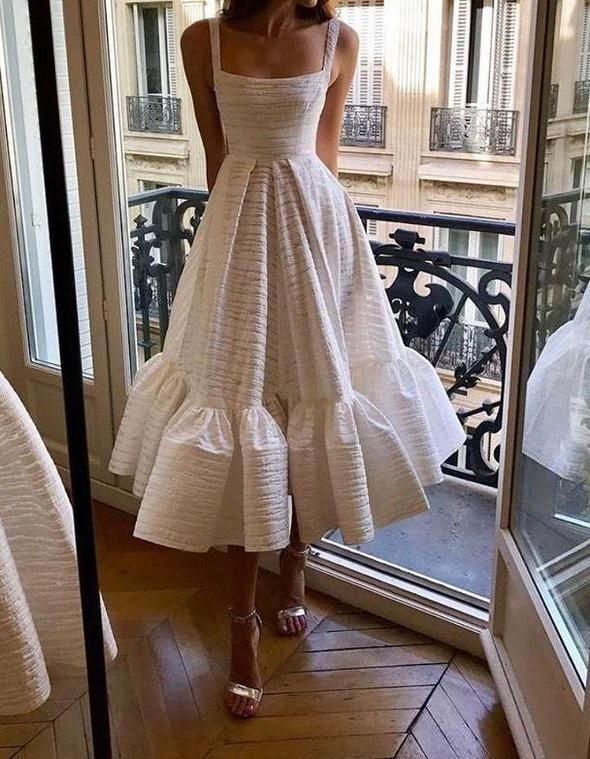 Ladies Wedding Guest Dresses White Tassel Dress Korean Dress White And In 2020 Fancy Dresses Fashion Outfits Women Wedding Guest Dresses