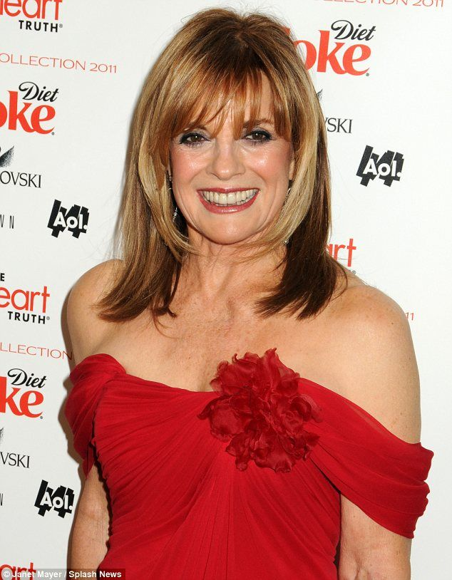 Linda Gray looking fab at 70!