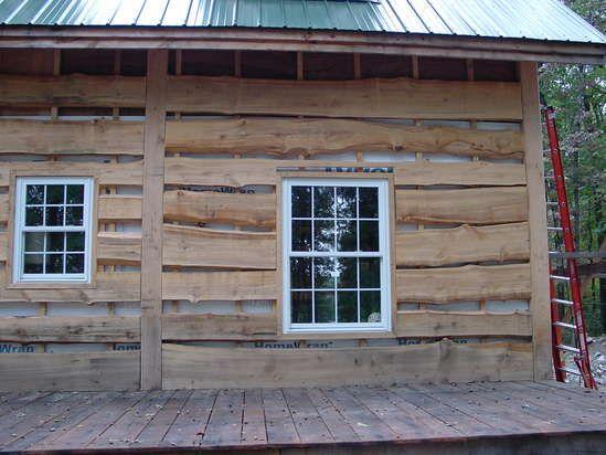 sawmill lumber house | Cabin Exteriors | Pinterest