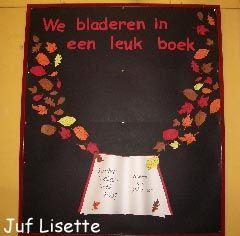 we bladeren in een leuk boek