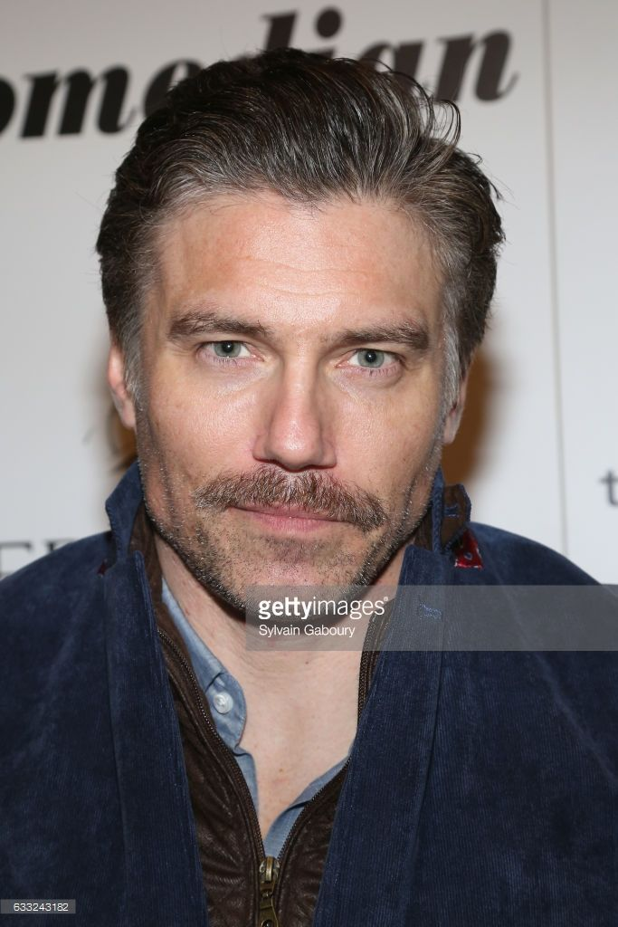 Anson Mount attends The Cinema Society with Avion and Jergens Host a Screening of Sony Pictures Classics' 'The Comedian' on January 31, 2017 in New York City.
