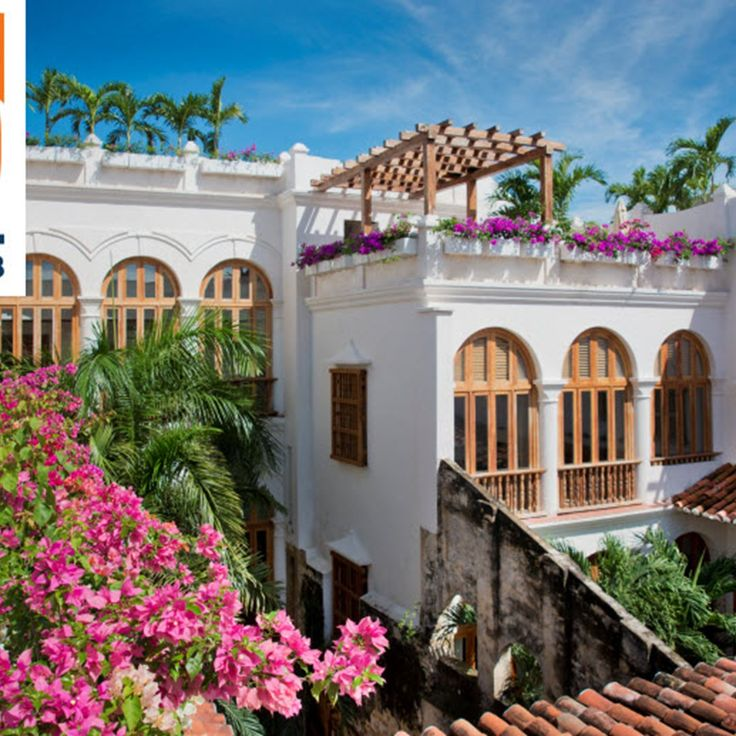 Casa San Agustin, a #Fodor's 100 Hotel sits within the walled city of #Cartagena, a UNESCO World Heritage site