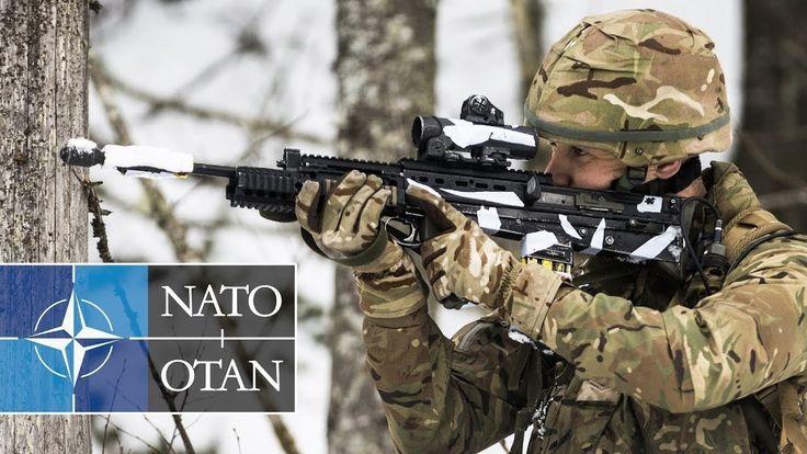 NATO Winter Warfare Live Fire Excercise