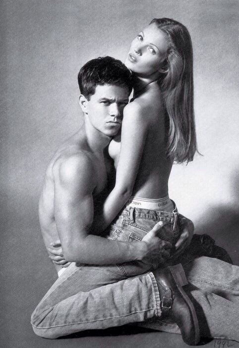 TheyAllHateUs; Kate Moss, Mark Wahlberg, Calvin Klein iconic photoshoot