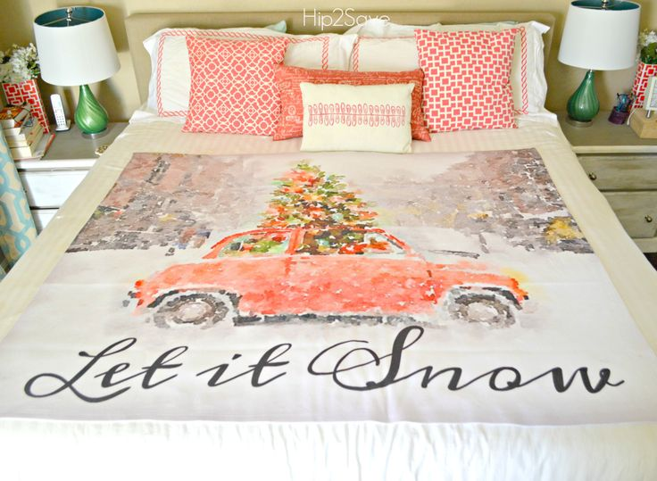 Walmart Photo Center has tons of custom photo gift ideas with free shipping! Check out our adorable Fleece Blanket Idea!