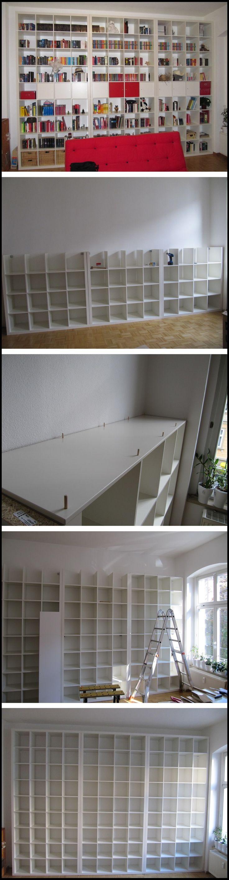 228 best images about ikea expedit kallax hacks on pinterest shelves craft cabinet and ikea. Black Bedroom Furniture Sets. Home Design Ideas