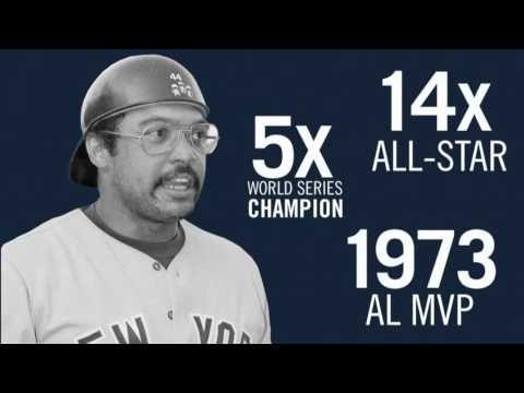 New York Yankees Retired Numbers: Reggie Jackson - YouTube