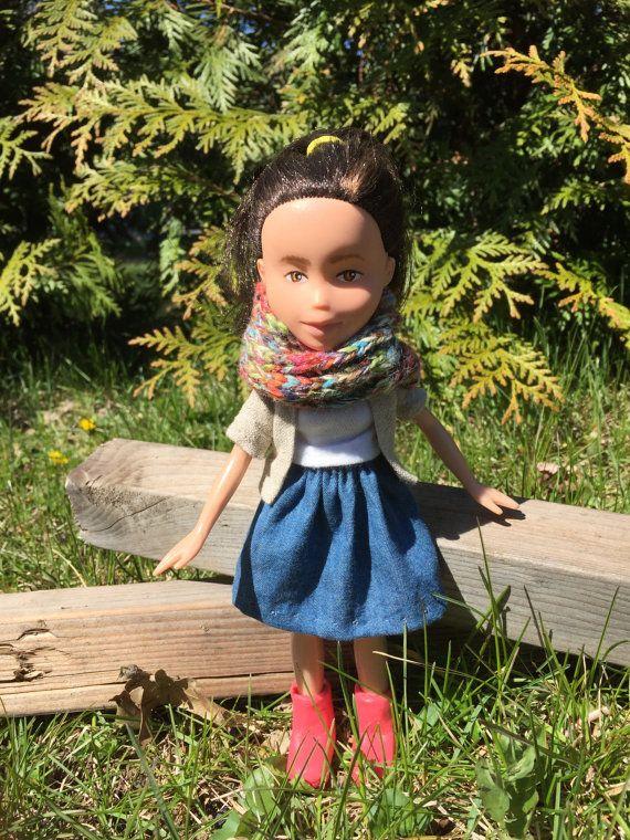 Reimagined Upcycled pintar muñeca Bratz nueva vida para la