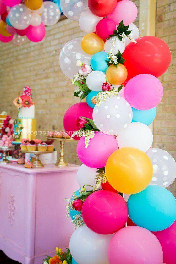 Decoração com balões - Bebê com Estilo