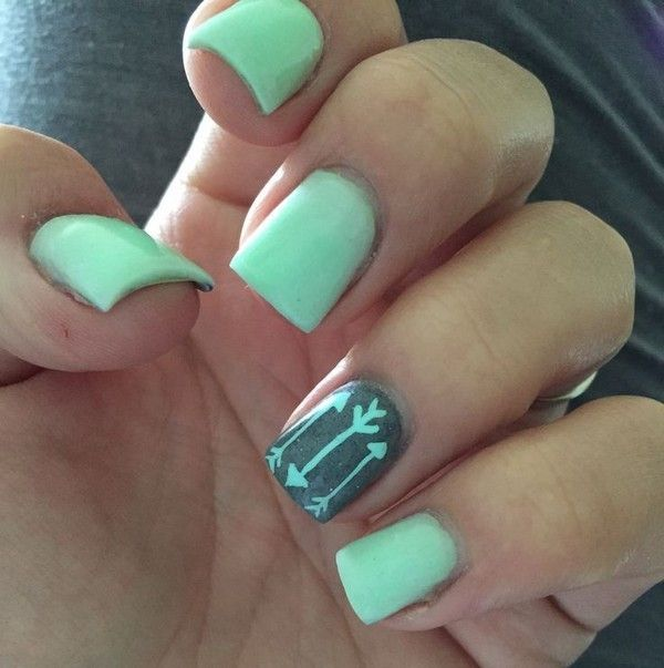 Cute Nail Designs For Short Nails Tumblr #NailDesigns #Nail #NailArt…