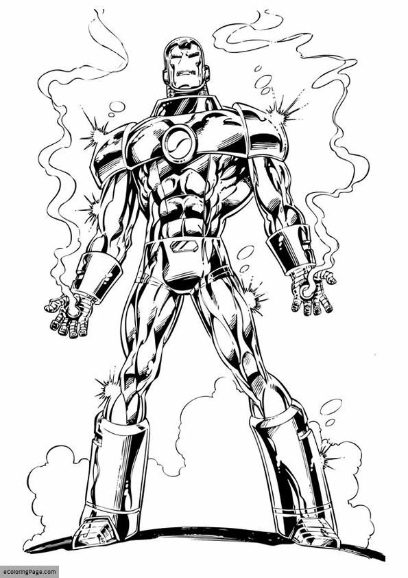 Iron Man 3 Burning Hands Coloring Page For Kids Printable Avengers Coloring Avengers Coloring Pages Hulk Coloring Pages
