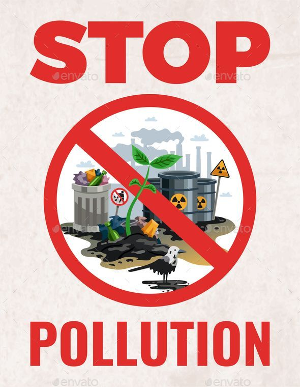 Stop Pollution Ecological Poster #Pollution, #Stop, # ...