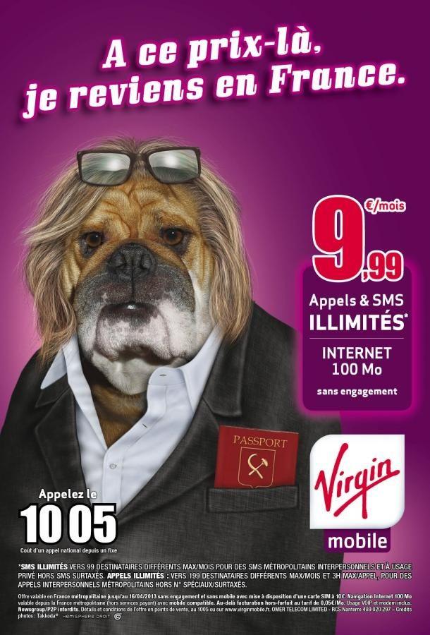 Pub Virgin Mobile sur Gérard Depardieu - http://www.mode-et-femme.com/pub-virgin-mobile-sur-gerard-depardieu/