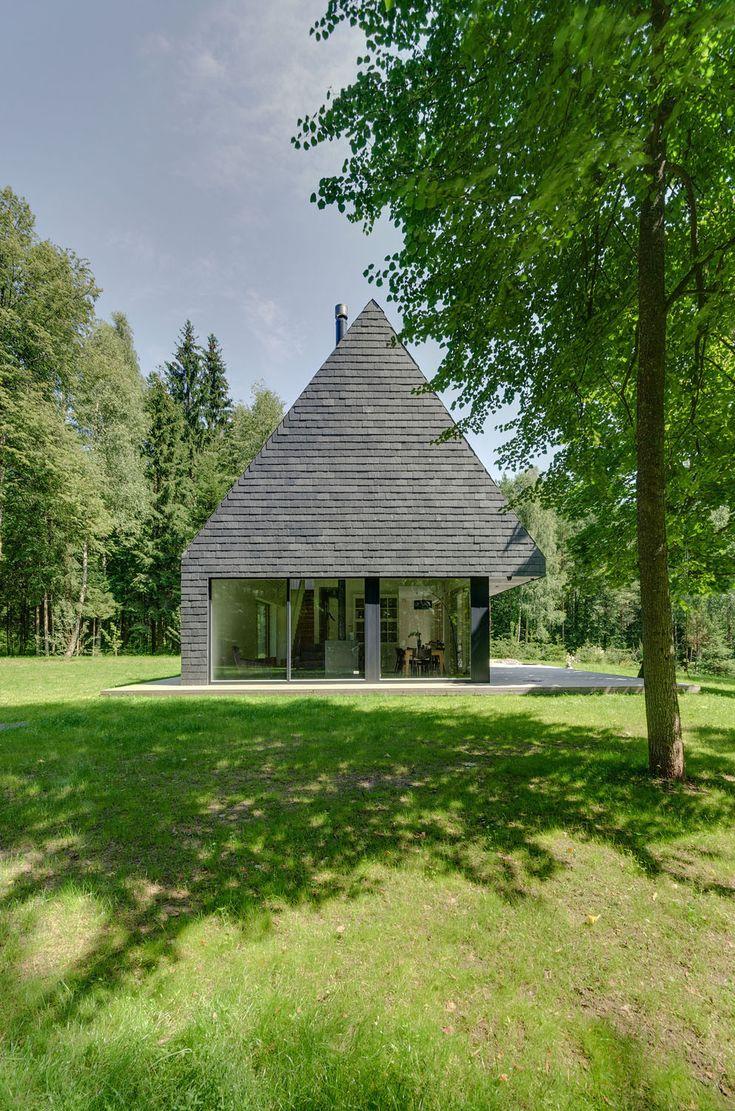 Wochenendhaus in Trakai - Schiefer - Wohnen/EFH - baunetzwissen.de
