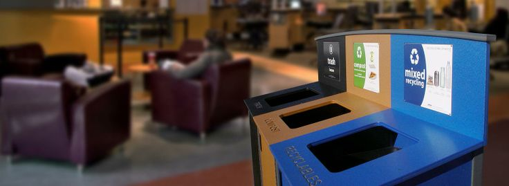 Triple Stream Recycling Station