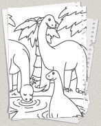 Diplodocus: Zum Beispiel, More About, Kostenlo Zum, Coloring Pages, About, On, Dino S Kleurplaten, Malvorlagen Kostenlo, Dino Kleurplaten