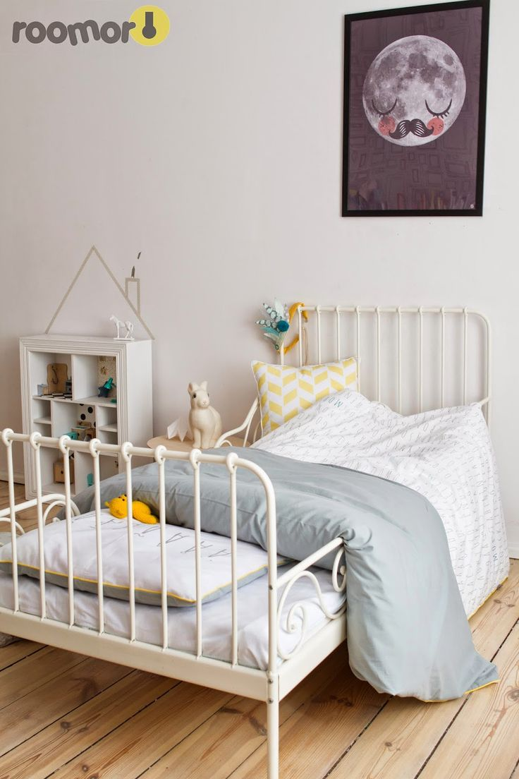 roomor! - #mumla, bedding, textile for kids, made in poland, kids room, vintage, girl room, moon fur Neil, Heico rabbit, retro,