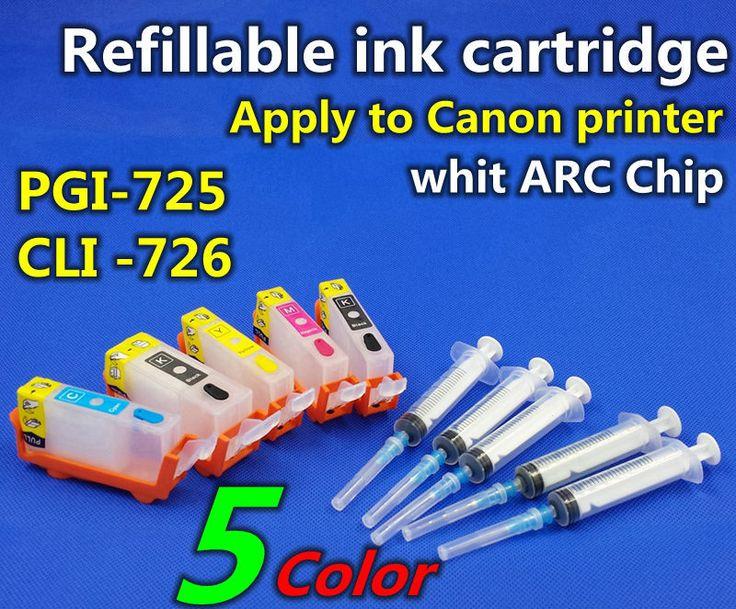 Купить товарPgi 750 CLI 751 6 color многоразового картридж применить к принтера в категории Чип картриджана AliExpress.        Заправка чернила картридж            6 цвет совместимы Заправочные патроны чернил + ARC чип      &nbs