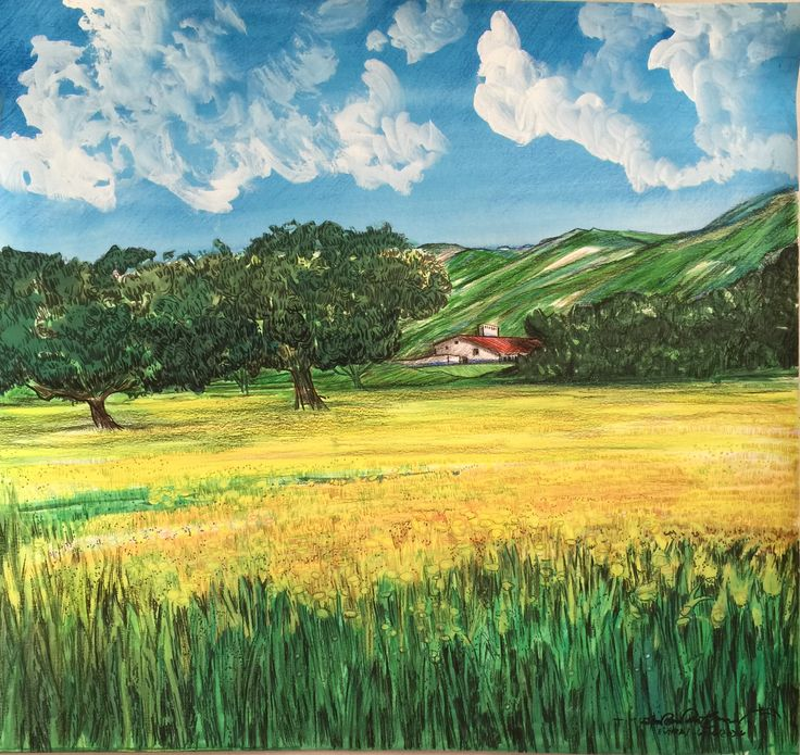 Alentejo landscape  EVORA