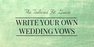 25 Best Ideas About Writing Wedding Vows On Pinterest