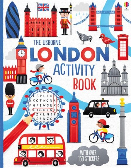 An exciting, London-themed activity book full of puzzles, mazes, doodles and…