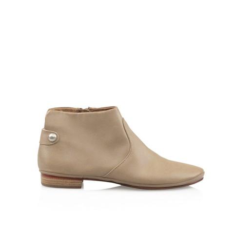 Zensu Gentle in Smokey Taupe Nappa - The perfect run around ankle boot