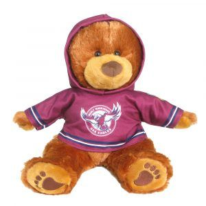 Eagles Plush Toys Supporter t-shirts with hood printed with team colours and logos